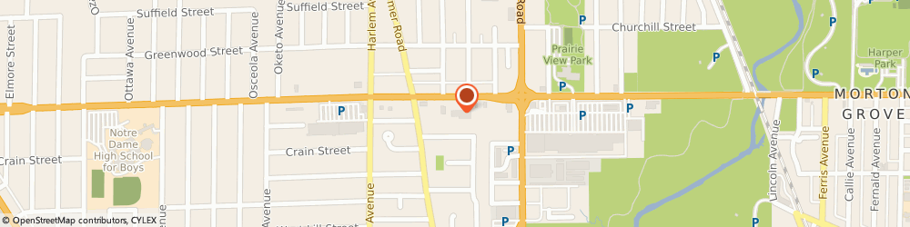 Route/map/directions to Advance Auto Parts, 60714 Niles, 7031 W Dempster St