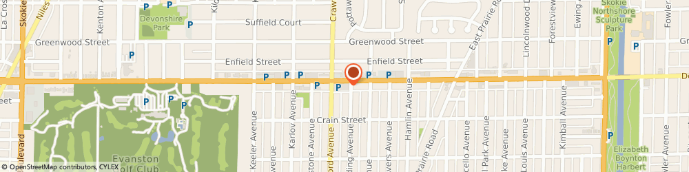 Route/map/directions to Walgreens, 60076 Skokie, 3945 Dempster St