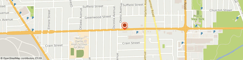 Route/map/directions to SUPERCUTS, 60714 Niles, 7241 W Dempster St