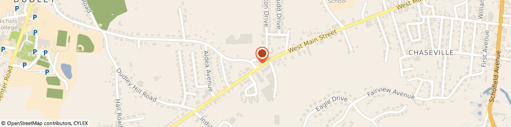 Route/map/directions to Citizens Bank ATM, 01571 Dudley, Cumberland Farms, 180 West Main Street