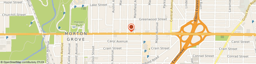 Route/map/directions to STATE FARM Margaret Hagerty, 60053 Morton Grove, 5850 West Dempster Street