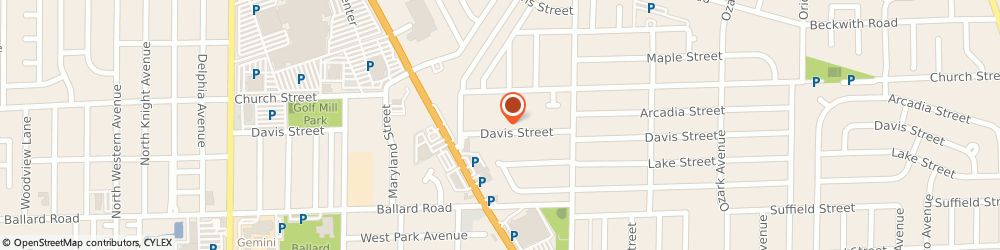 Route/map/directions to American Family Insurance, 60714 Niles, 8136 WEST DAVIS STREET
