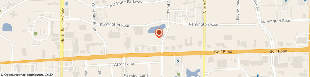 Route/map/directions to David's Bridal, 60173 Schaumburg, 560 East Golf Road