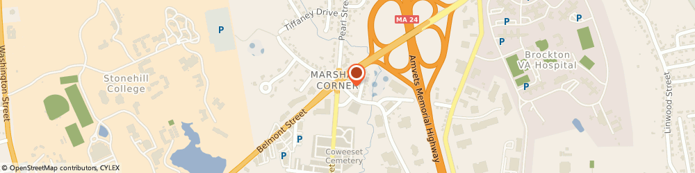 Route/map/directions to Prudential, 02301 Brockton, 149 Mill St