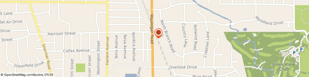 Route/map/directions to Allstate Insurance, 60025 Glenview, 333 Waukegan Road