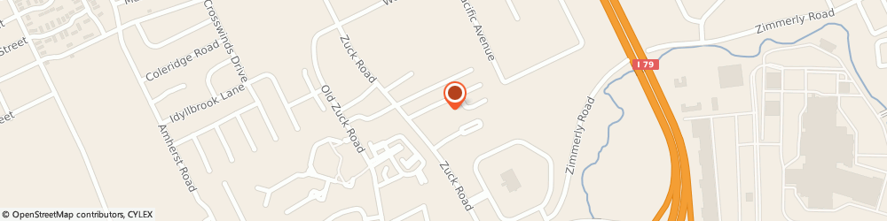 Route/map/directions to NovaCare Rehabilitation, 16506 Erie, 5121 Zuck Road