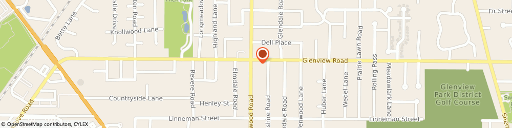 Route/map/directions to Greenwood CITGO, 60025 Glenview, 915 Greenwood Road
