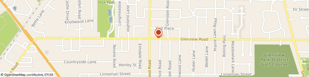 Route/map/directions to American Family Insurance, 60025 Glenview, 3246  ROAD