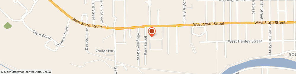 Route/map/directions to Advance Auto Parts, 14760 Olean, 2901 West State Street