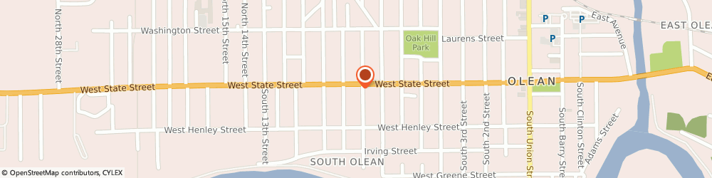 Route/map/directions to KFC, 14760 Olean, 913 W. State Street