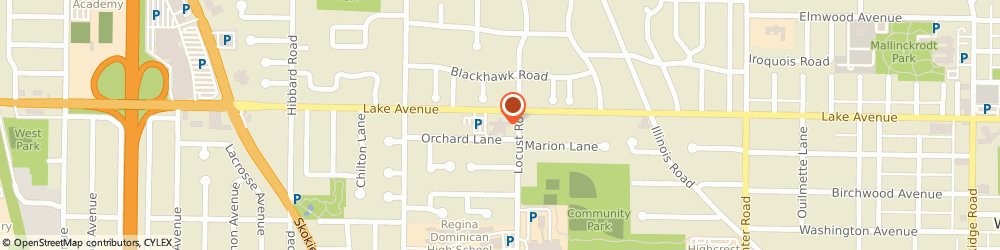 Route/map/directions to The Church of Jesus Christ of Latter-day Saints, 60091 Wilmette, 2727 Lake Avenue