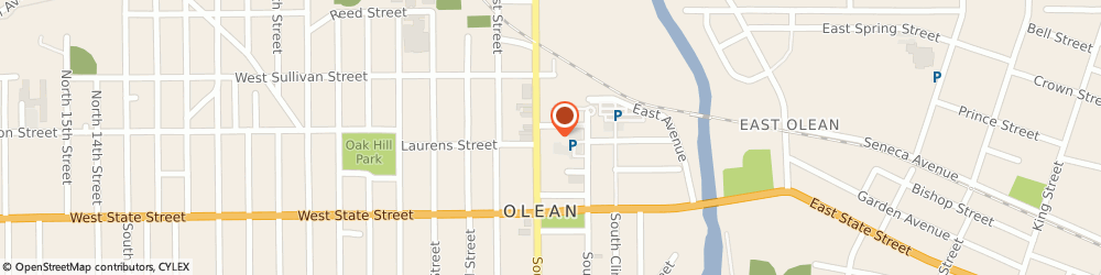 Route/map/directions to Boy Scouts of America, 14760 Olean, 176 N. Union St.