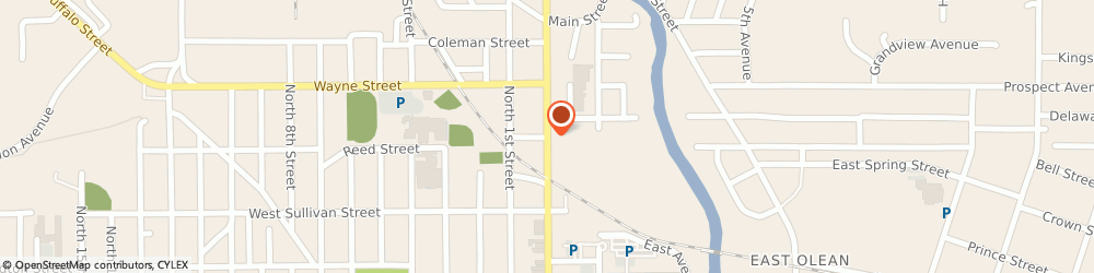 Route/map/directions to Community Bank Na - Olean Offices, 14760 Olean, PO BOX 690