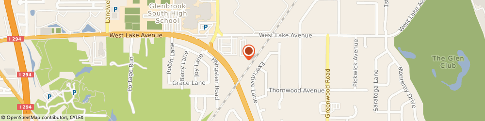 Route/map/directions to Farmers Insurance - Erick Weingart, 60026 Glenview, 3633 W Lake Ave