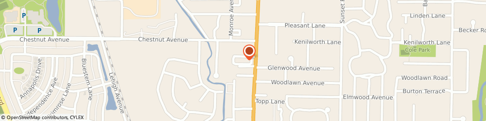 Route/map/directions to CubeSmart Self Storage, 60025 Glenview, 1718 Waukegan Rd