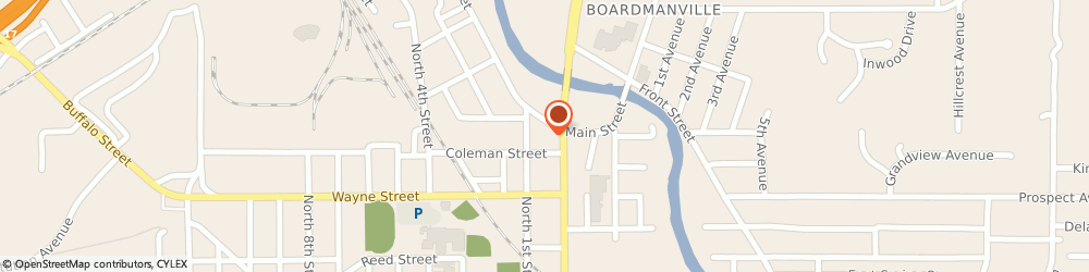 Route/map/directions to 7-Eleven, 14760 Olean, 607 N Union St