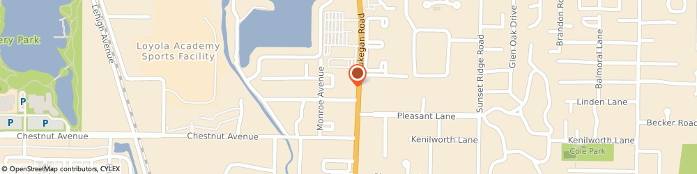 Route/map/directions to Michael Molitor: Allstate Insurance, 60025 Glenview, 1920 Waukegan Rd