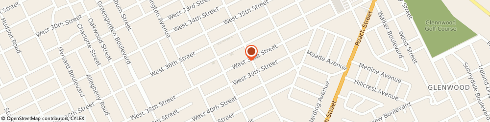 Route/map/directions to Wisniewski William J, 16508 Erie, 1320 West 38Th St