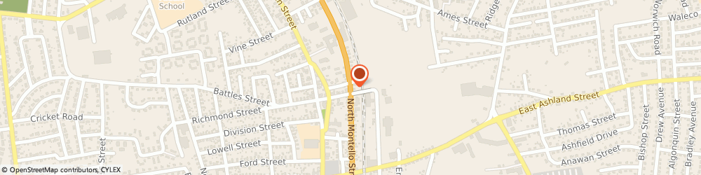 Route/map/directions to Prudential, 02301 Brockton, 575 N Montello St
