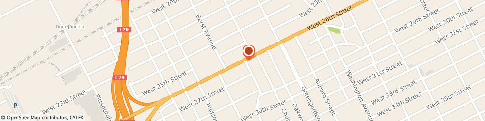 Route/map/directions to Schroeck Richard r Insurance, 16508 Erie, 1730 West 26Th Street