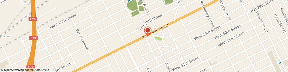 Route/map/directions to Best Cuts, 16502 Erie, 1526 W 26Th St