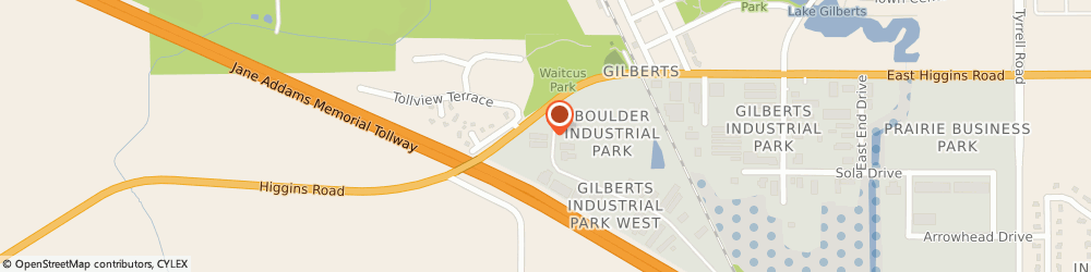 Route/map/directions to Gilberts Family Branch Ymca, 60136 Gilberts, 50 Industrial Dr