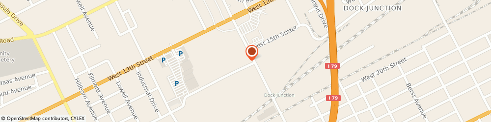 Route/map/directions to Interim HealthCare of Erie PA, 16505 Erie, 2206 West 15th St.