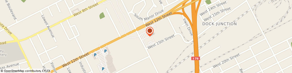 Route/map/directions to NovaCare Rehabilitation, 16505 Erie, 2167 W 12Th Street