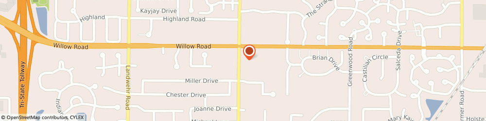 Route/map/directions to PETCO, 60026 Glenview, 2727 Pfingsten Rd Suite 8