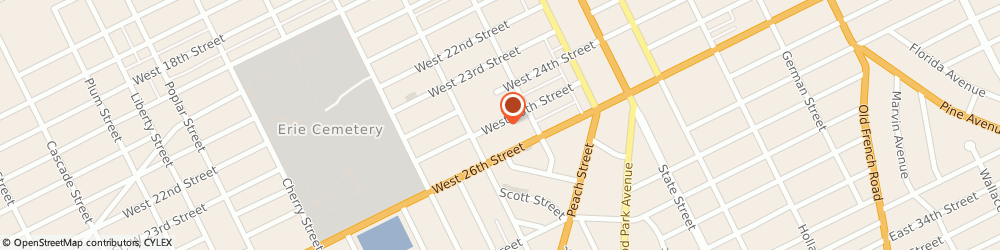 Route/map/directions to Mr Rooter Plumbing, 16501 Erie, STREET