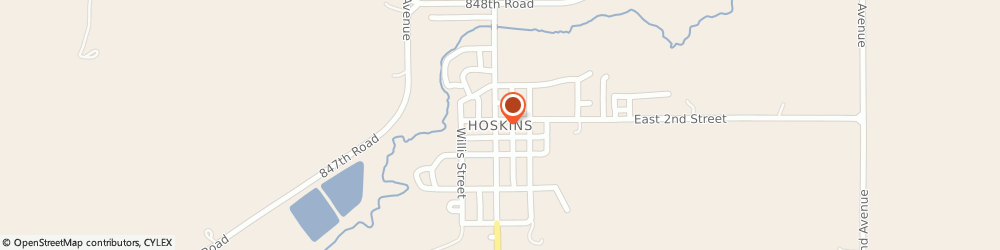 Route/map/directions to Progressive Insurance, 68740 Hoskins, 112 Main St