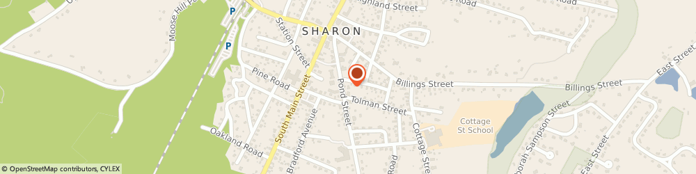 Route/map/directions to Citibank ATM, 02067 Sharon, 68 Pond St