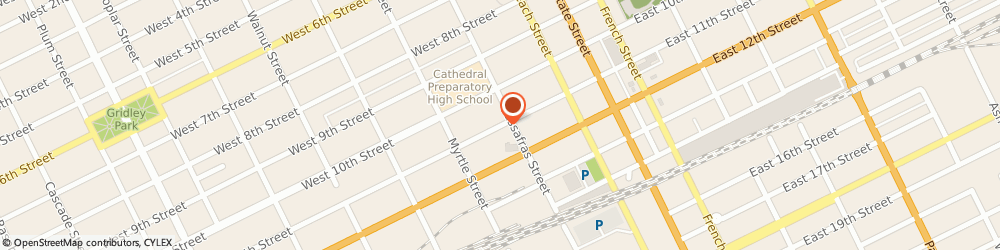 Route/map/directions to Erie Borowy Insurance Agency LLC, 16501 Erie, 206 W 11Th St Ste B