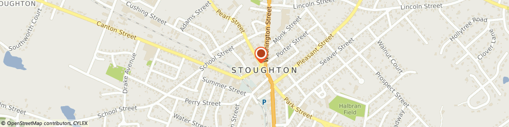 Route/map/directions to Stoughton Town Employees Federal Credit Union, 02072 Stoughton, 10 Pearl St