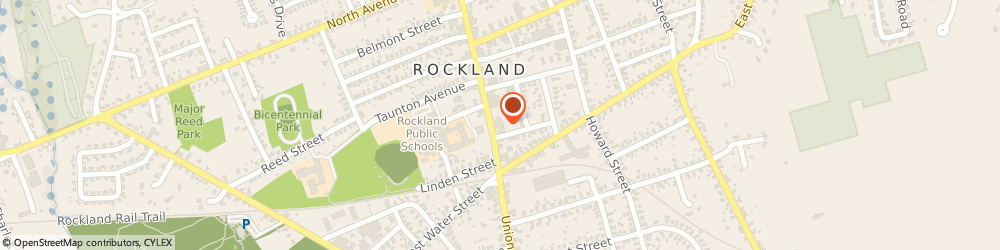 Route/map/directions to Rockland Federal Credit Union, 02370 Rockland, 241 Union St
