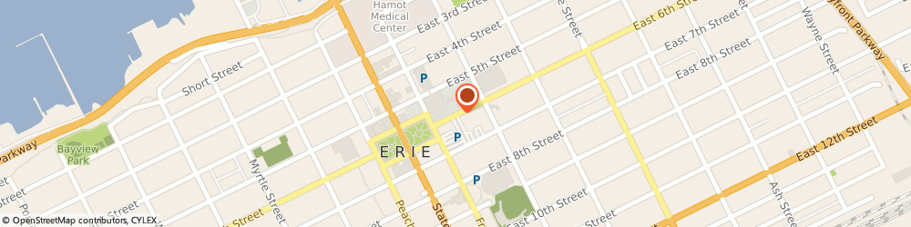 Route/map/directions to Erie Home Office, 16530 Erie, 100 Erie Insurance Place