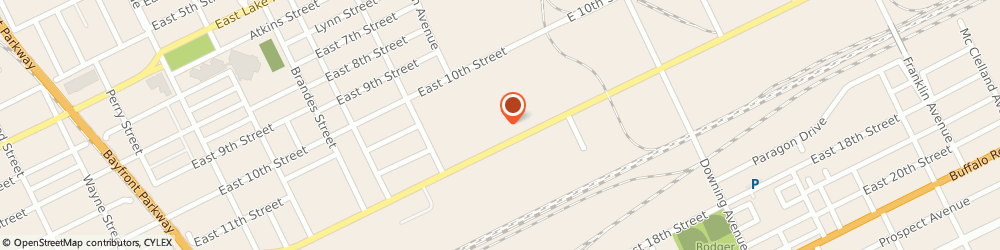 Route/map/directions to Exxonmobil Distributor, 16511 Erie, 1522 East 12Th Street