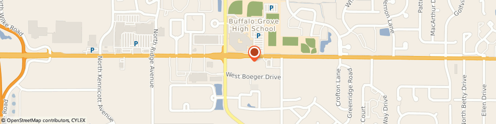 Route/map/directions to POPEYES, 60004 Arlington Heights, 7 W Dundee Rd