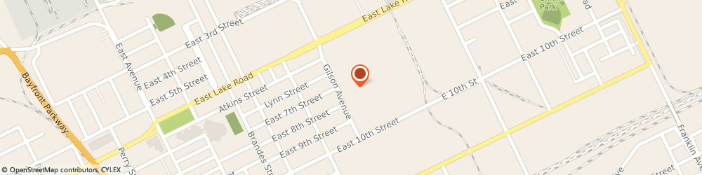 Route/map/directions to Boys & Girls Clubs of America ERIE, 16511 Erie, 1515 E Lake Rd