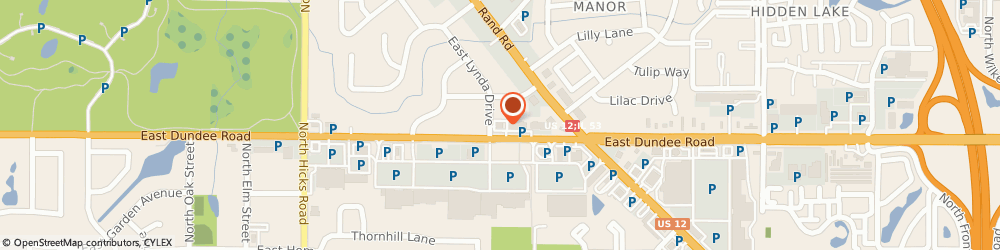 Route/map/directions to PNC Bank, 60074 Palatine, 720 E Dundee Rd