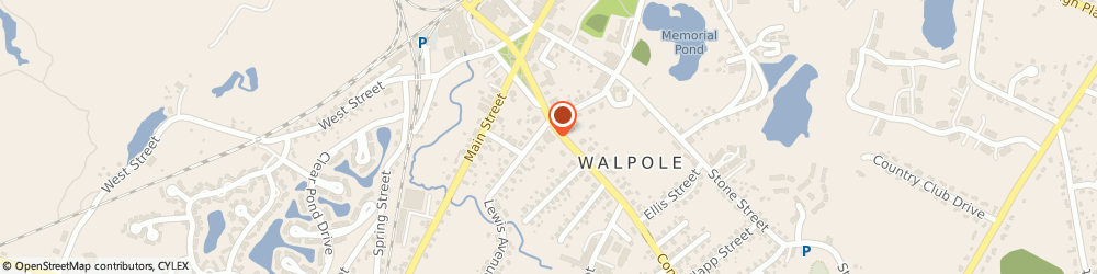 Route/map/directions to EIA Global, 02081 Walpole, 65 Common Street