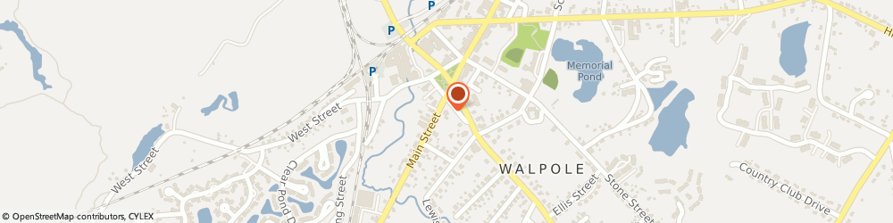 Route/map/directions to Export Insurance, 02081 Walpole, 40 Front St
