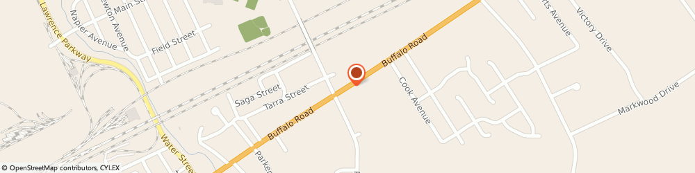 Route/map/directions to Dots, 16510 Erie, 4431 Buffalo Road