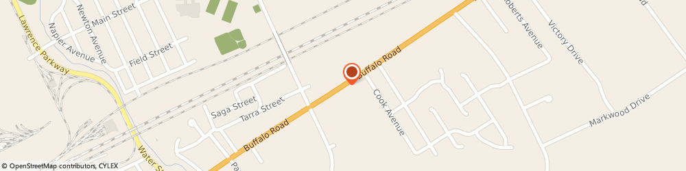 Route/map/directions to Best Cuts, 16510 Erie, 4447 Buffalo Rd