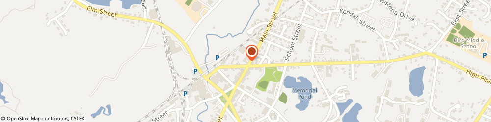 Route/map/directions to Santander Bank, 02081 Walpole, 931 Main Street