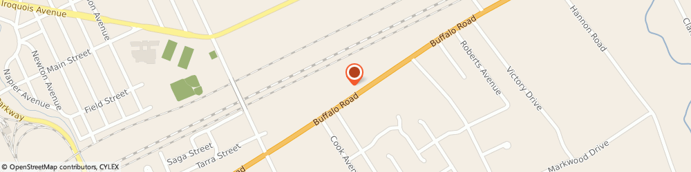 Route/map/directions to NovaCare Rehabilitation, 16510 Erie, 4630 Buffalo Road