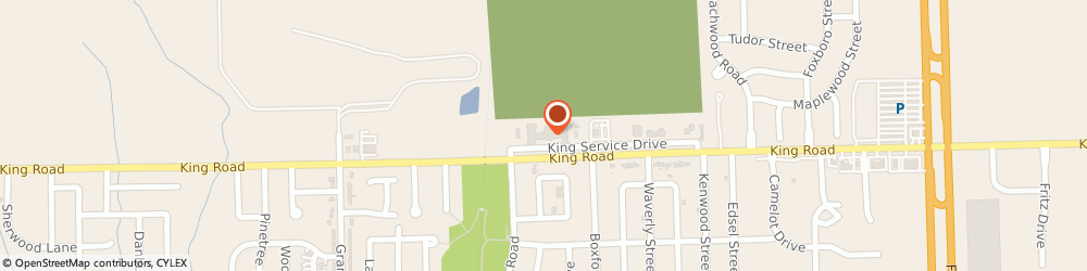 Route/map/directions to Atria Kinghaven, 48193 Riverview, 14800 King Road