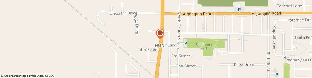 Route/map/directions to McDonald's, 60142 Huntley, 10711 Rt 47