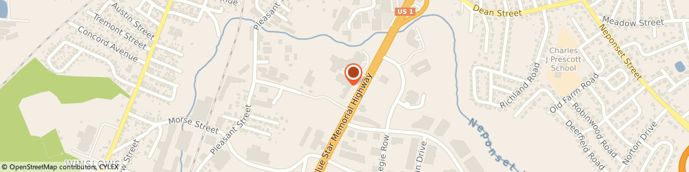 Route/map/directions to Chadwick Federal  Credit  Union, 02062 Norwood, 1151 Boston Providence Highway