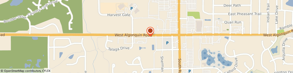 Route/map/directions to Steve Kosydar: Allstate Insurance, 60102 Algonquin, 2725 W Algonquin Rd
